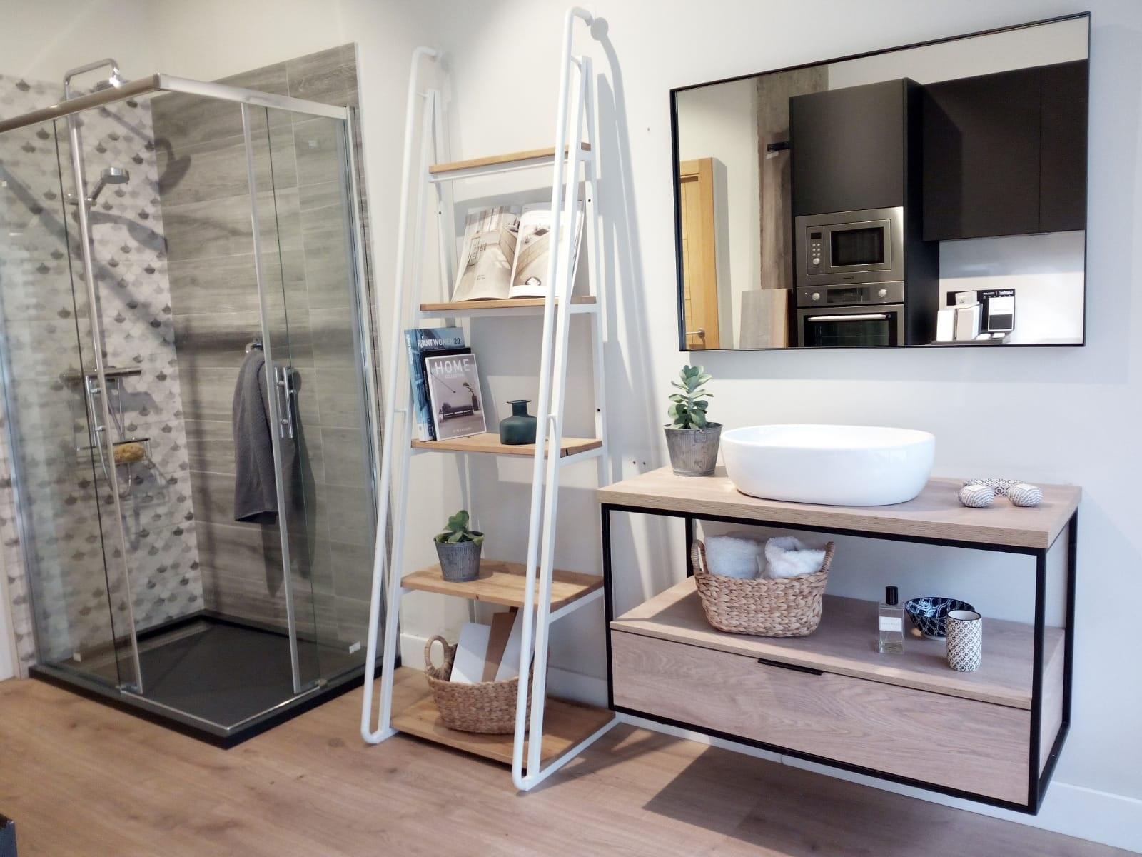 Nuevo mueble de baño estilo industrial